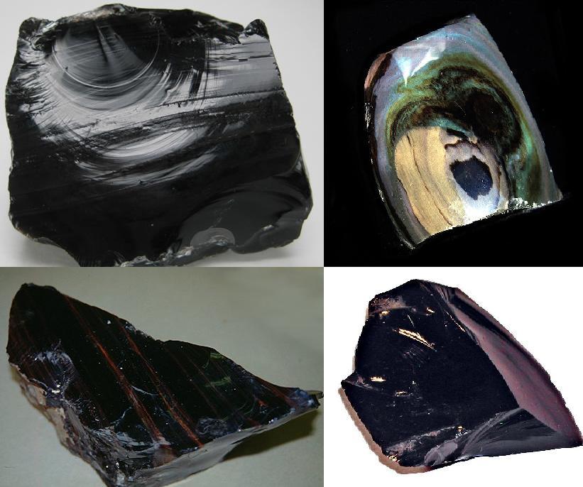 Obsidian Gemstone And Birthstone Natural Obsidian Rock